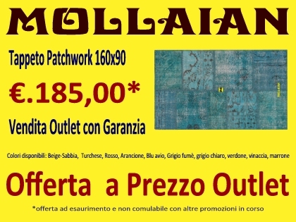 Outlet tappeto online - Mollaian Tappeti Orientali