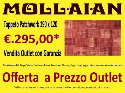molaian outlet online tappeti patchwork vintage