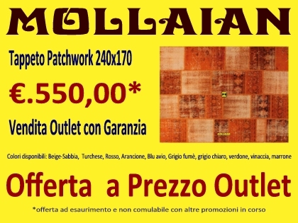 mollaian outlet online tappeti