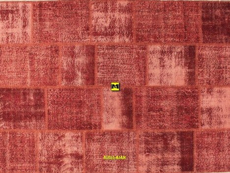 outlet online offerte patchwork rosso 240x170